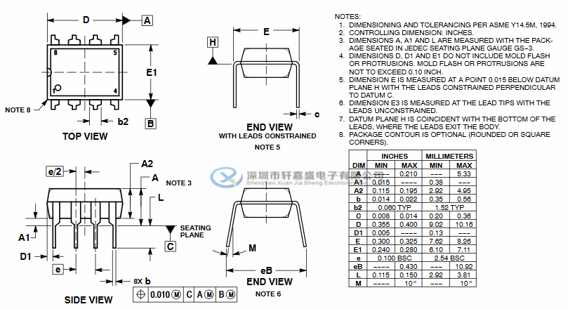 UC3844BNG的描述: UC3844B,UC3845B系列是高性能固定频率电流模式控制器。 它们专为离线和DC-DC转换器应用而设计, 为设计人员提供了具有极低成本效益的解决方案,并且只需极少的外部元件。 这些集成电路具有振荡器,温度补偿参考,高增益误差放大器, 电流检测比较器和高电流图腾柱输出,非常适合驱动功率MOSFET。 还包括保护功能,包括输入和参考欠压锁定, 每个锁定具有迟滞,逐周期电流限制,单脉冲测量的锁存器和一个触发器, 每隔一个振荡器周期就关闭输出,允许输出死区时间从50%编程到70