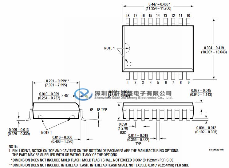 LT1181AISW的特征: 超过±10kV的ESD保护 使用小型电容器:0.1μF RL = 3k,CL = 2500pF时的120kBaud操作 RL = 3k,CL = 1000pF时的250kBaud操作 输出可承受±30V而不会损坏 CMOS可比低功耗:40mW 采用单5V电源供电 坚固的双极设计 输出在关闭或断电时会承担高阻抗状态 符合所有RS232规格 有或没有关机 绝对没有闩锁 采用SO封装  LT1181AISW的应用: 便携