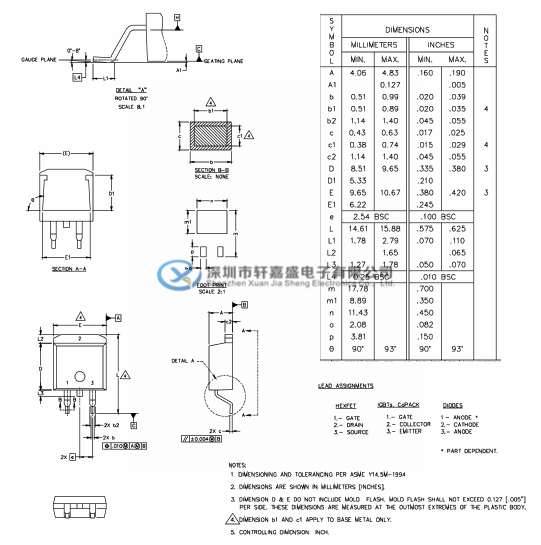 IRL7833S的应用: 用于计算机处理器电源的高频同步降压转换器 用于电信和消费用途的具有同步整流的高频隔离式DC-DC转换器  绝对最大额定值  IRL7833S的优点: 在4.5V VGS时非常低的RDS(on) 超低栅极阻抗 充分表征雪崩电压和电流 D²Pak封装大纲  D²Pak部件标记信息  D²Pak磁带和卷轴信息  主营的产品: TI/德州: