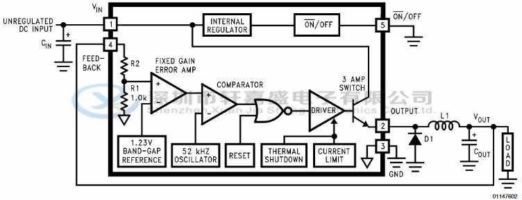 lm2576hvs-15 ns/国半 to-263 3a降压型稳压器 场效应